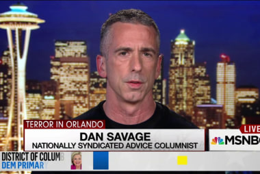 Savage: Trump is 'enemy of the LGBT...