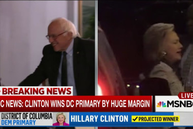 Clinton, Sanders meet in Washington, DC