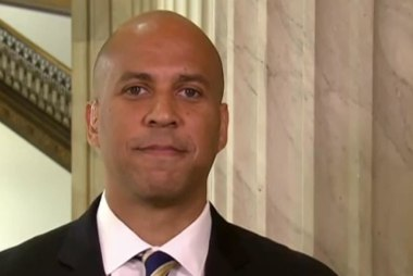 Sen. Booker: 'We knew this wasn't going to...