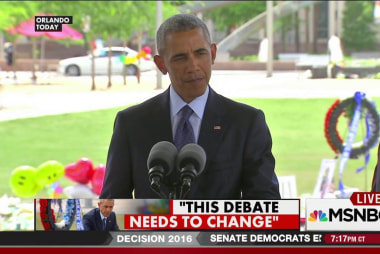 Obama mourns for Orlando
