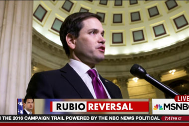 Rubio has a change of heart about the Senate