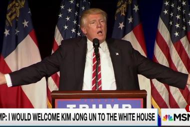 Trump's hard line on N Korea: No state dinner