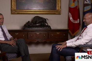 Obama sits down with Yankee legend