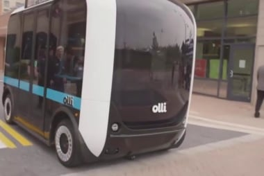 Driverless buses hit the road in D.C.