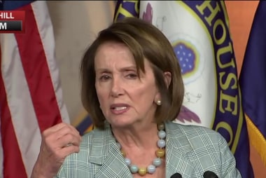 Nancy Pelosi: We raised our voices