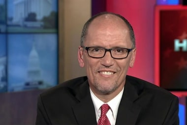 Tom Perez: 'Donald Trump is a fraud'