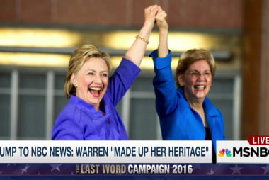 Warren on Clinton's heart and Trump