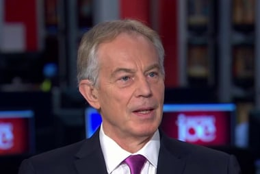 Tony Blair: I wouldn't write us out of...