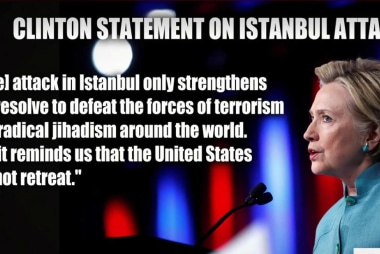 Clinton, Trump respond to Istanbul attack
