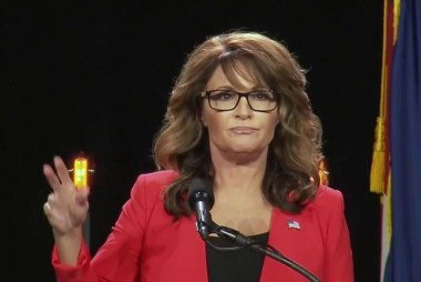 Palin bashes the Never Trump movement