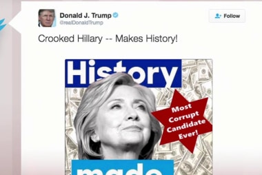 'Why not apologize?' Trump's Clinton tweet