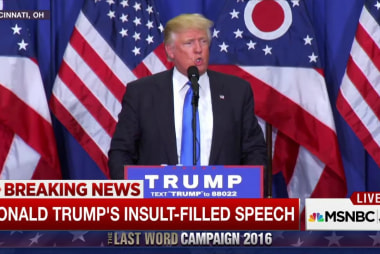 Fact-checking Trump's insult-filled speech
