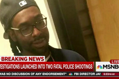 Another police shooting of a black man