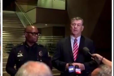 Mayor: A heartbreaking moment for Dallas