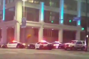 Five police officers shot in Dallas, six...