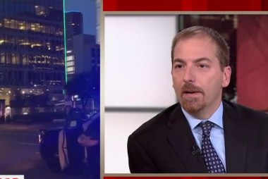 Chuck Todd: We need an Obama speech after...