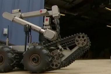 Robot used to stop Dallas gunman
