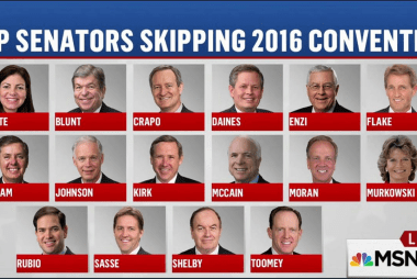 Republican Convention no-show list is growing