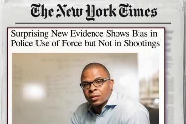 Police bias study shows surprising statistics