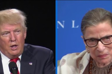 Trump on RBG: 'Her mind is shot - resign!'