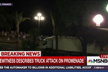 France attack witness: 'It was a nightmare'