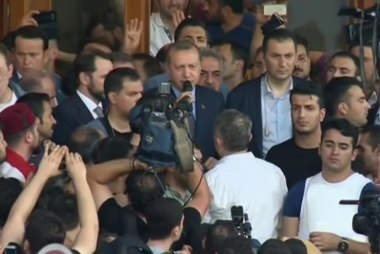 Turkish Pres. declares attempted coup over