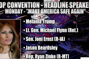 Monday's RNC theme: 'Make America Safe Again'