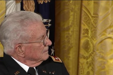 Obama awards medal of honor to Vietnam vet
