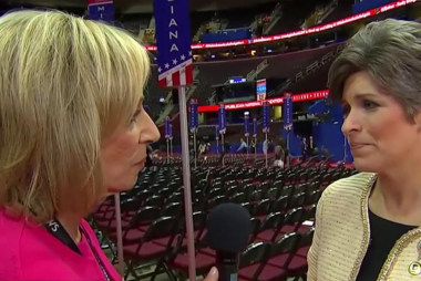 Sen. Ernst: 'Very excited' about Pence pick