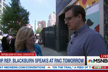 GOP Rep Blackburn on anti-Clinton attacks