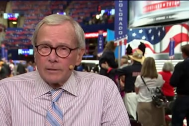 Brokaw revisits past political conventions
