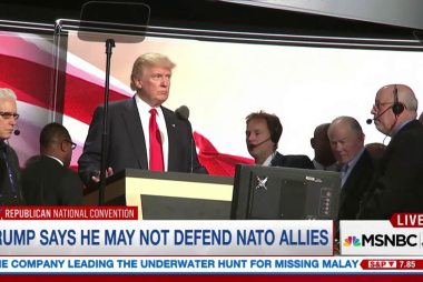 Trump's NATO shocker