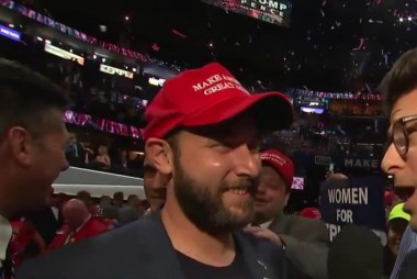 Delegate on Trump: 'He's the man'