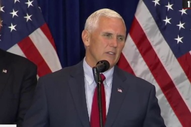 Pence: 'We are humbled and so grateful'
