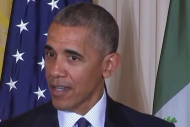 Obama: We can't 'build a wall' around...