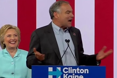 Kaine: 'When we're together we're stronger'
