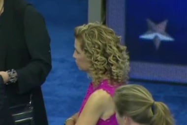 Talks underway to keep DNC chair off stage