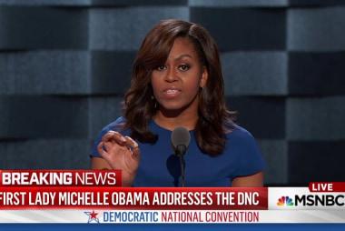 Full video: Michelle Obama 2016 DNC address