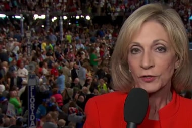 Andrea Mitchell on historic Clinton nom
