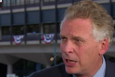 McAuliffe on TPP, Trump's Russia remarks