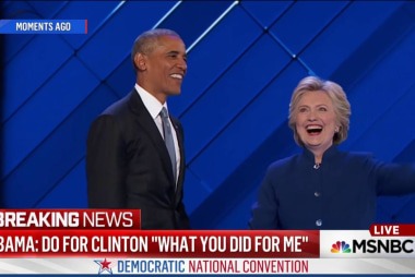 Obama speech 'priceless' for Clinton