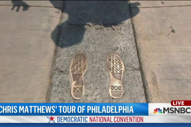 Chris Matthews' final stop in Philadelphia