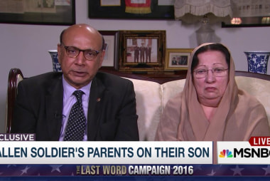 Capt. Khan's parents remember their son