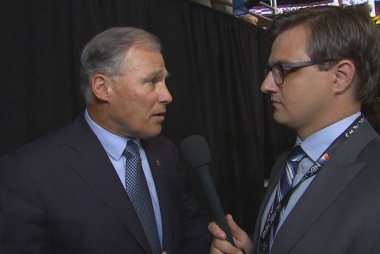 Gov. Inslee: Sanders 'brought a lot of...