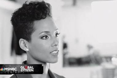 Global Citizen Festival: Alicia Keyes...