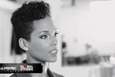 Global Citizen Festival: Alicia Keyes...
