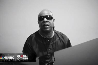 Global Citizen Festival: Stevie Wonder