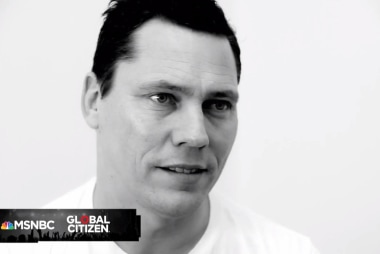 Global Citizen Festival: Tiesto Interview