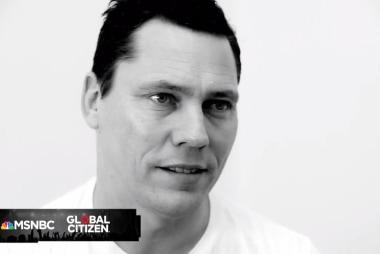 Global Citizen Festival: Tiesto Interview