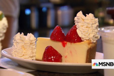 Learning from the pros: The Cheesecake...